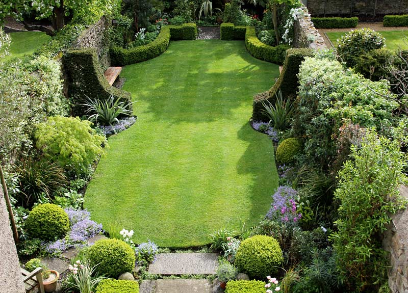 Small town garden damian costello garden design for Garden design ideas for medium gardens